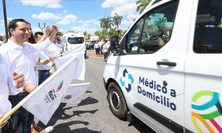 'Médico a Domicilio' tiene segunda etapa y llega a 40 municipios