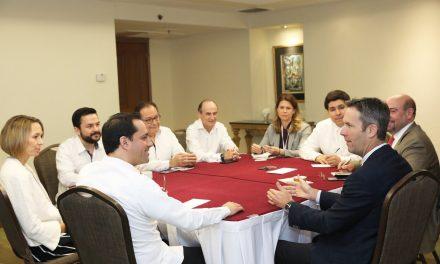 Empresarios de Estados Unidos colocan a Yucatán como referente de potencial económico