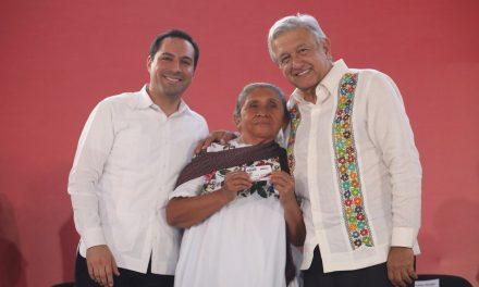 Vila y AMLO comparten elogios y proyectos para Yucatán
