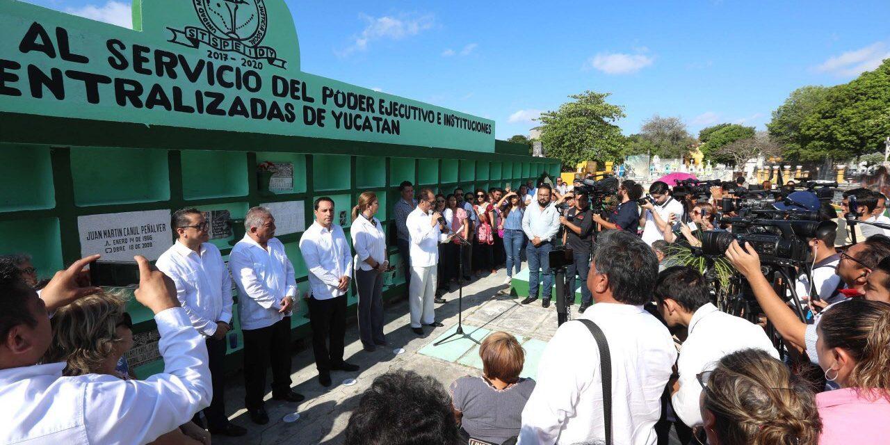 Homenaje y celebración por Día del Servidor Público en Yucatán