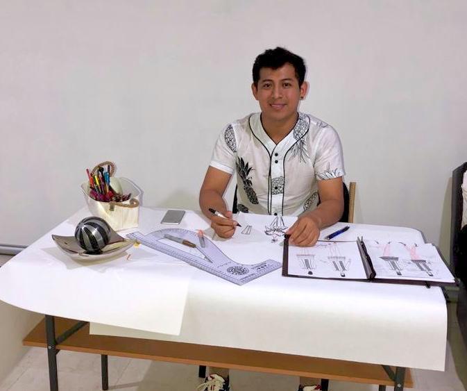 """Diseños de Luis Cohuo Collí lucieron en el """"Fashion Week México City"""""""