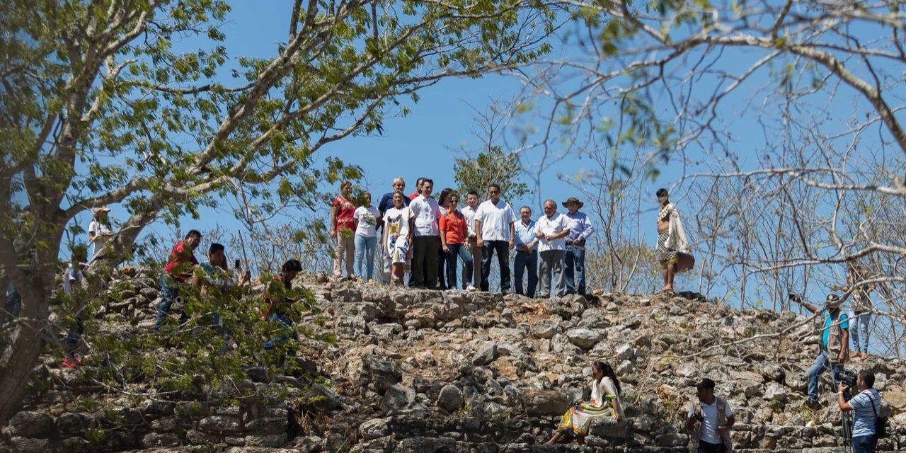 Chaltún Há, zona arqueológica dentro del Pueblo Mágico de Izamal