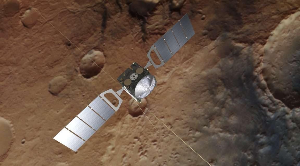 Agencia Espacial Europea confirma datos de Curiosity: hay metano en Marte