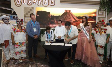Mayor conectividad aérea, en agenda de Yucatán en Tianguis Turístico