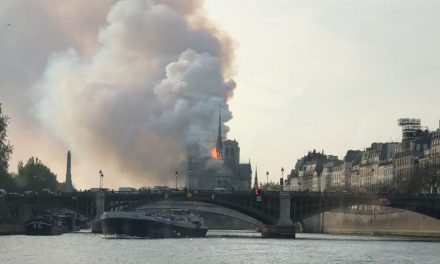 La catedral de Notre Dame en París sufre un incendio que derrumba su aguja
