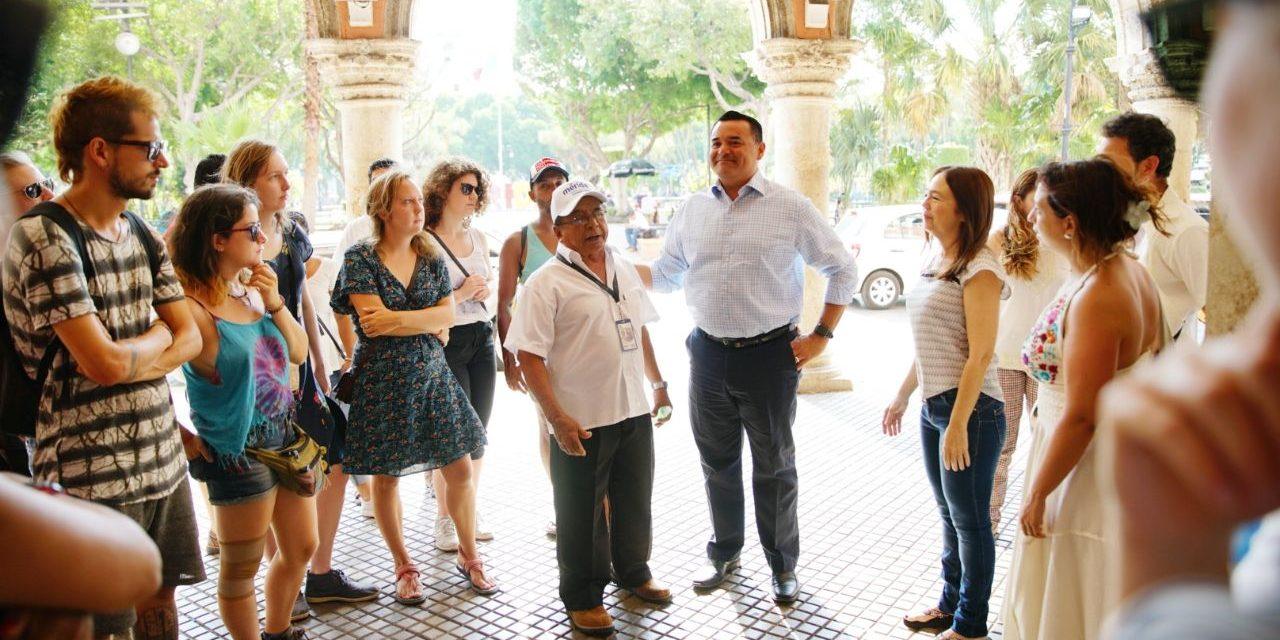 A partir del lunes en Mérida nuevos recorridos turísticos gratuitos