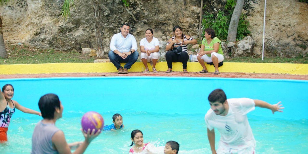Piscinas de Acuaparque, alternativa para quienes se quedan en Mérida