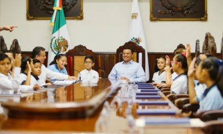 """Cabildo infantil en Mérida dicta crear """"Club del Diálogo"""""""