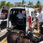 Estrenan transporte gratuito personas con discapacidad motriz (Vídeo)