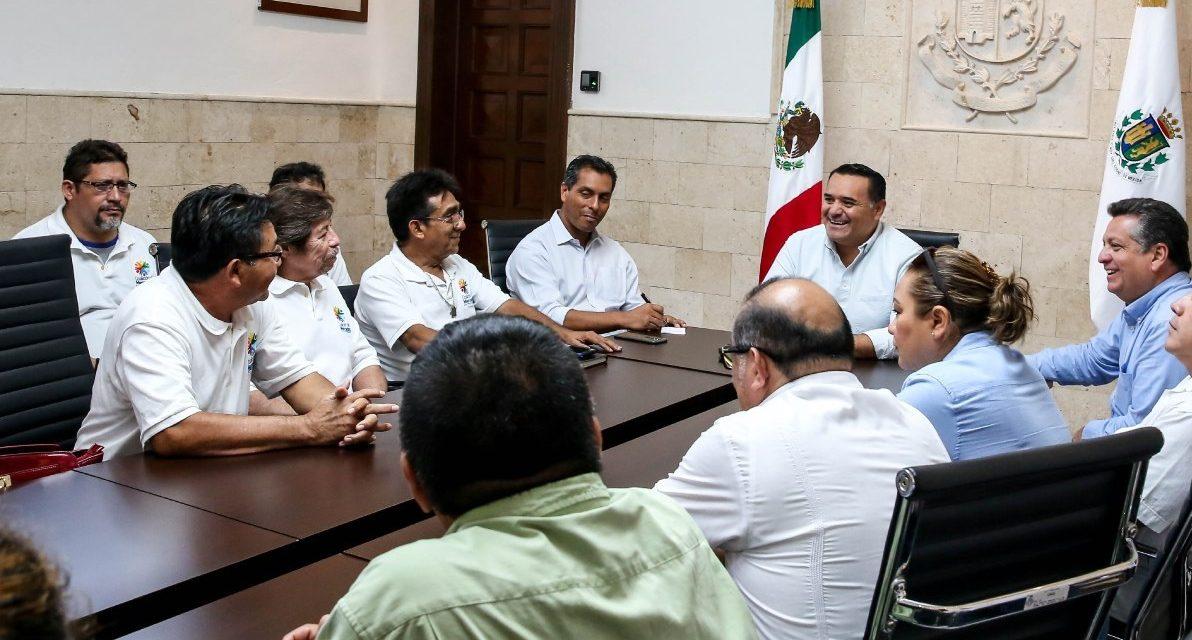 Locatarios y Ayuntamiento Mérida revisan temas de mercados urbanos