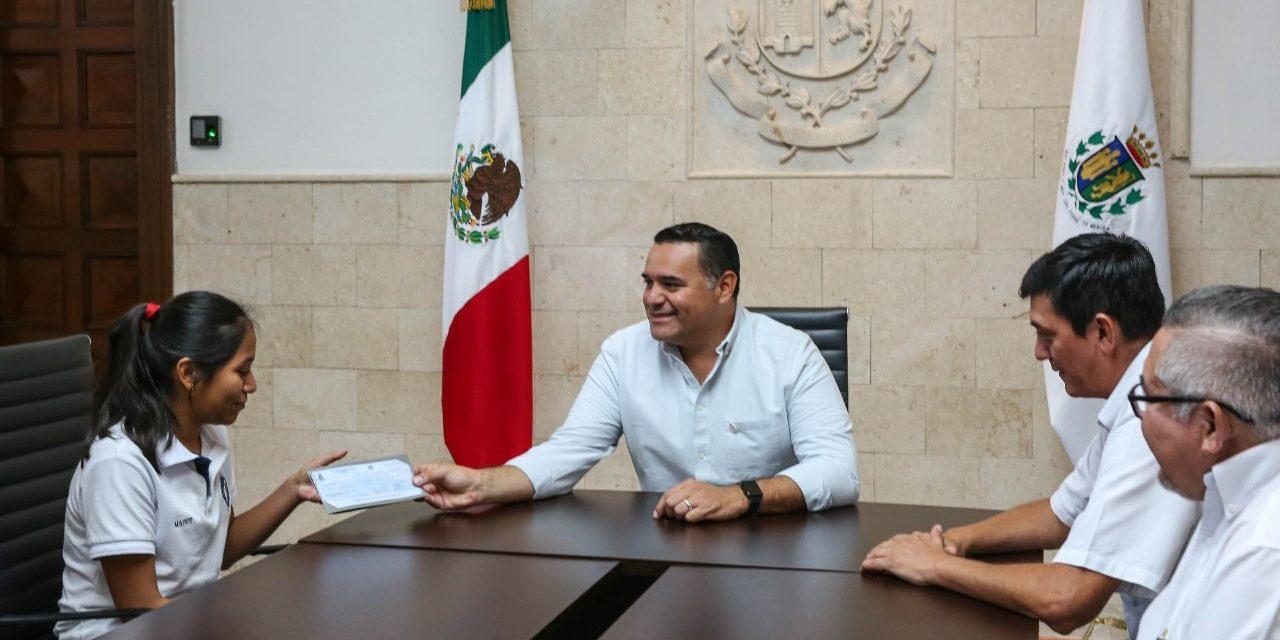 De comisaría de Mérida a Olimpiada Nacional de Matemáticas