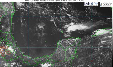 Fin de semana con hasta 41 grados en la Península de Yucatán