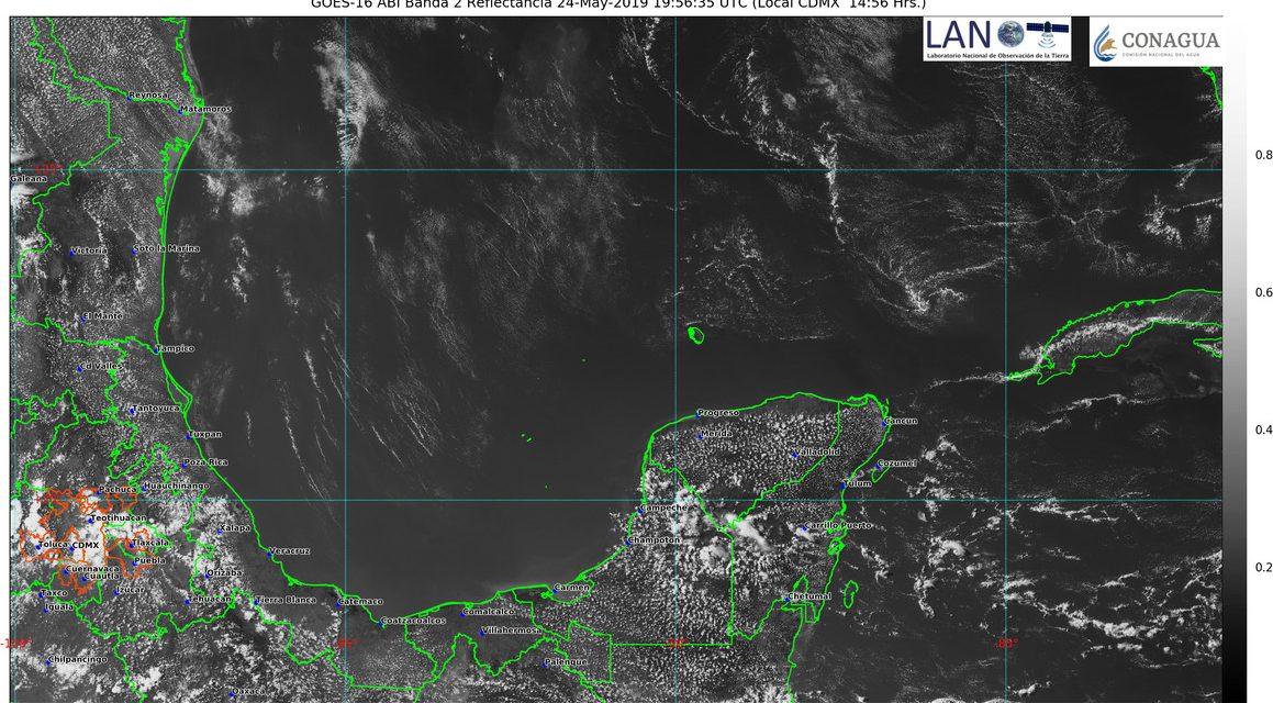 Mira el pronóstico del clima este fin de semana en Península de Yucatán