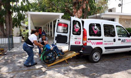 Así opera el transporte gratuito a personas con discapacidad motriz