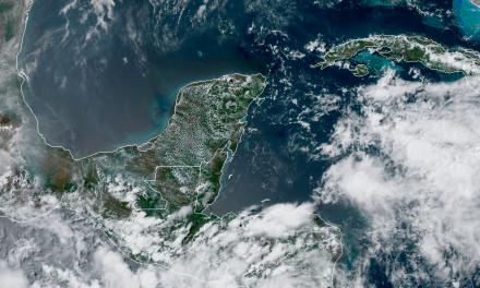 Potencial de lluvias para jueves, viernes y sábado en Península de Yucatán