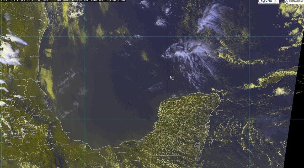 Pronóstico extendido de hasta 40 grados en #PenínsulaDeYucatán