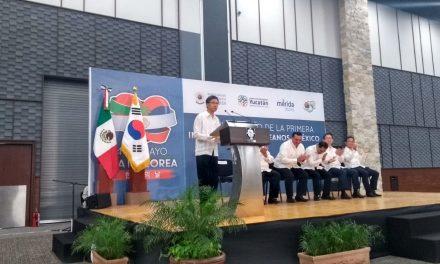 'Apapacho' a coreanos en Yucatán tiene como respuesta inversión