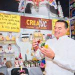 Presencia de artesanos en Semana de Yucatán en México