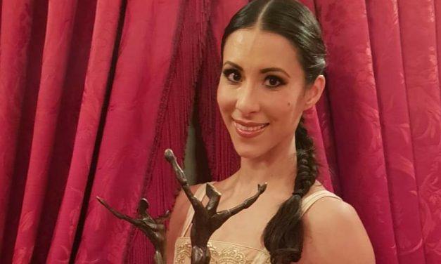 El 'Oscar de la Danza' a Elisa Carrillo, con vínculo yucateco