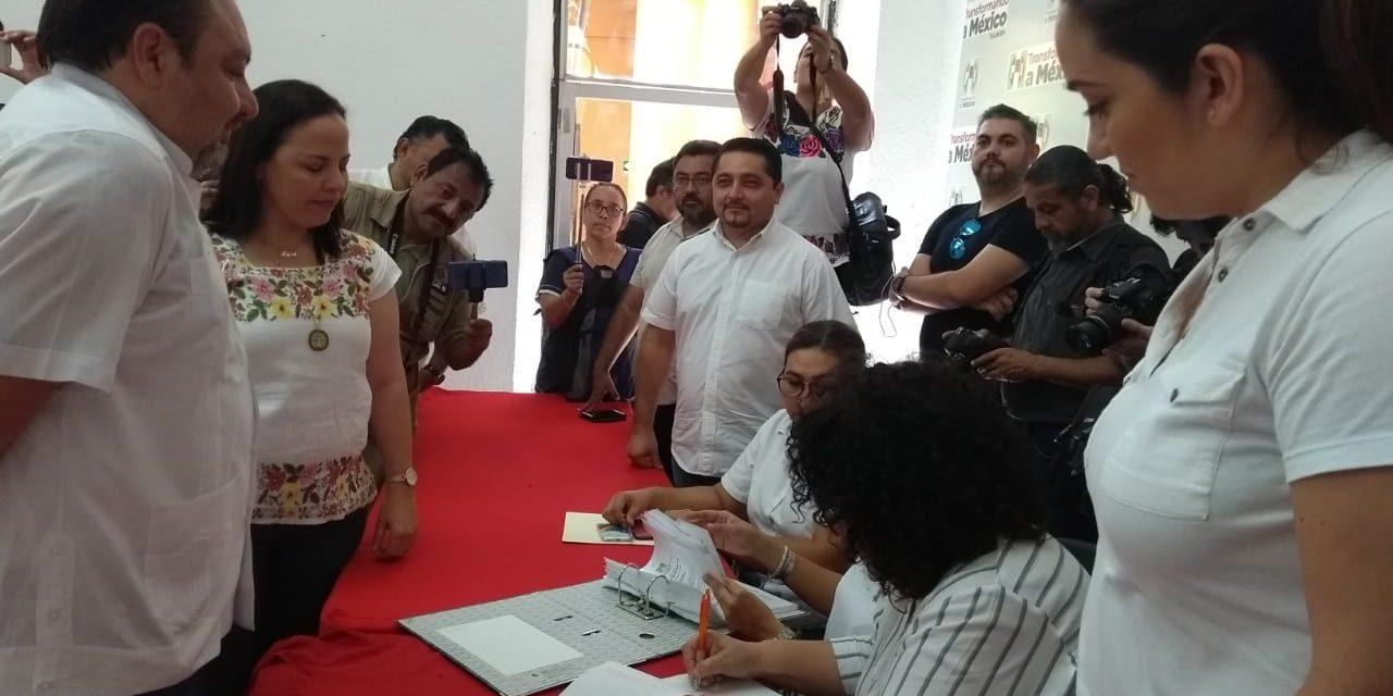 """Ratifica CEN del PRI resultado de interna a favor de """"Panchito"""" Torres"""
