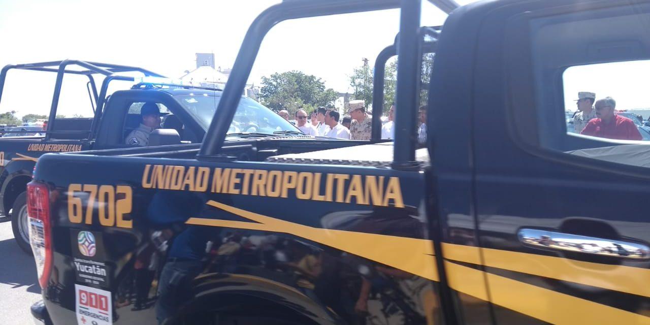 Tienen Mérida y municipios aledaños nueva división policíaca (Vídeo)
