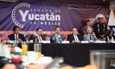 Semana de Yucatán en México, con promoción en CdMx