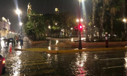 Efectos de 'vaguada térmica' sobre Península de Yucatán