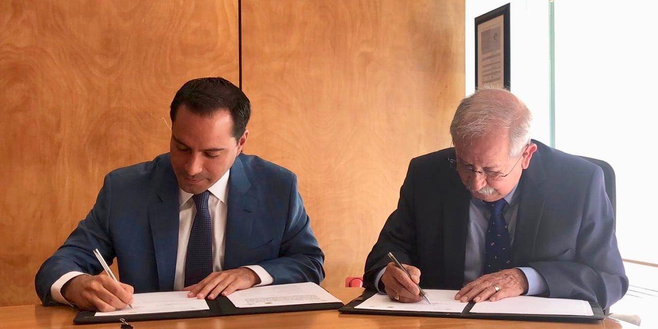 Convenio para impulsar puerto Progreso y puntos costeros de Yucatán