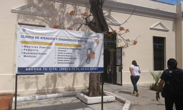 UADY, con Clínica de Atención y Diagnóstico Médico a población abierta (Vídeo)
