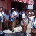 Paro de choferes afecta transporte en Mérida; piden mejores salarios