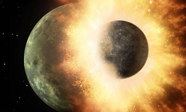 Confirman que cataclísmica formación de la Luna provocó existencia de agua en la Tierra