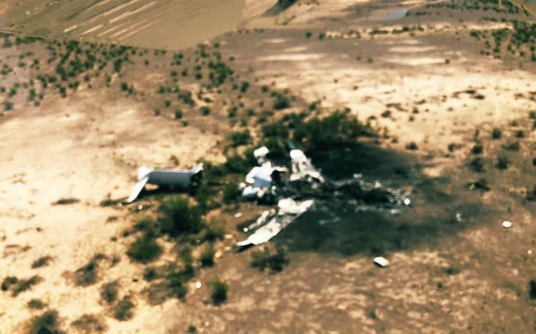 Van por rescate de cuerpos de avión accidentado en Monclova