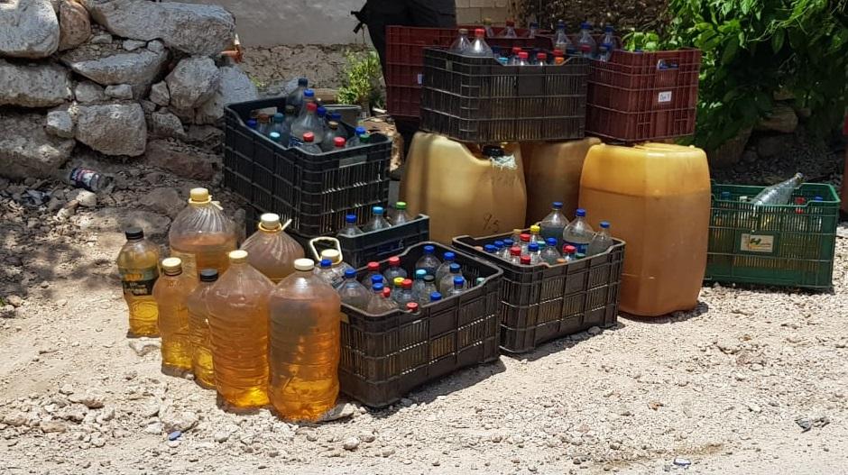 En tres cateos en Tekit, FGR asegura combustible y detiene a 5 personas