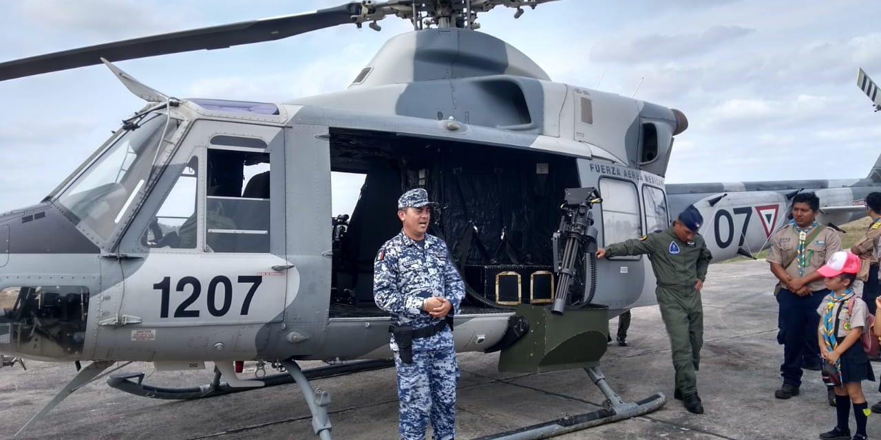 Refuerzan helicópteros artillados Península de Yucatán (Vídeo)
