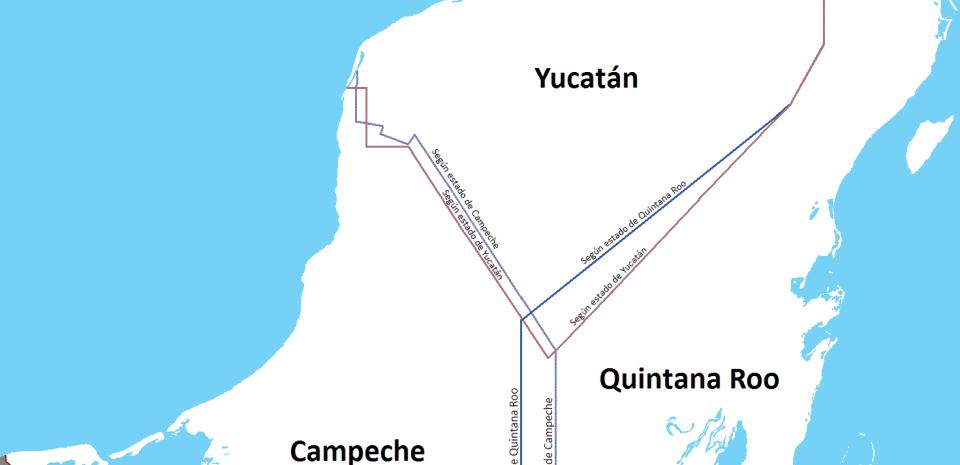 ¿Revive disputa territorial entre Quintana Roo y Yucatán?