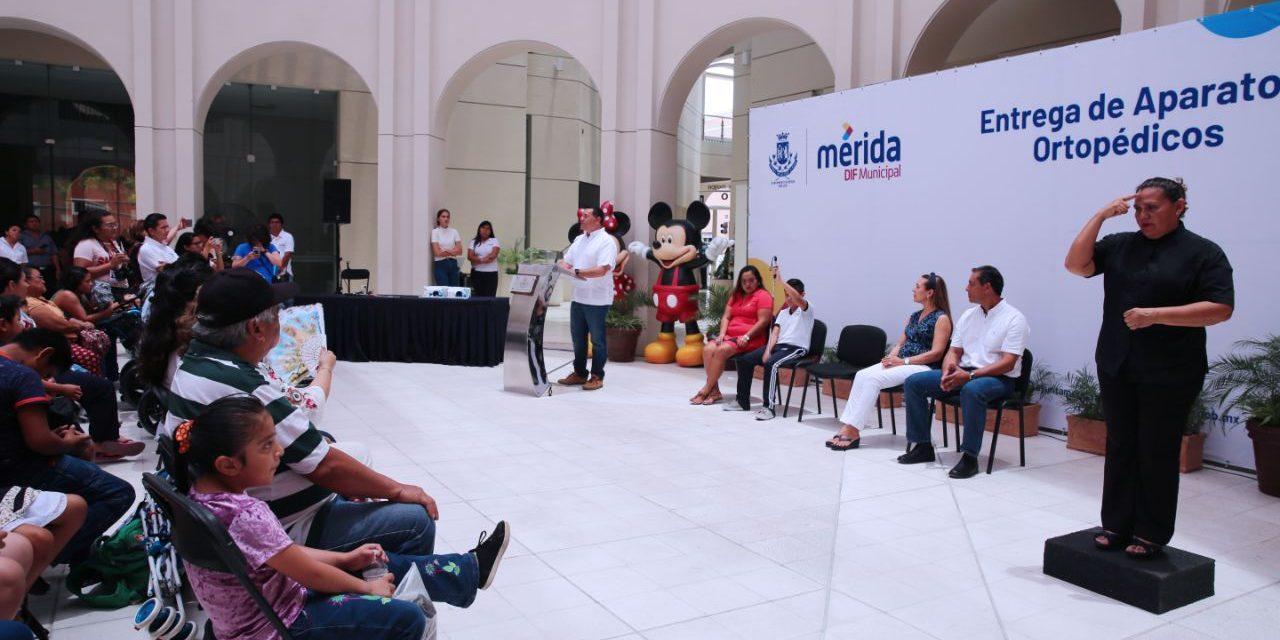 Ayuntamiento de Mérida con más acciones a favor de la inclusión