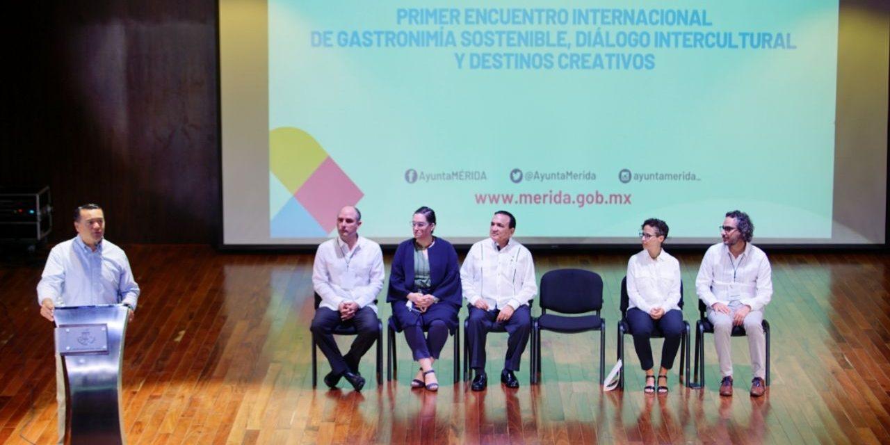 Encuentro Internacional de Gastronomía Sostenible, Diálogo Intercultural y Destinos Creativos