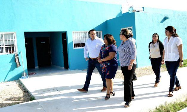 Dinero federal a Mérida para refugio de víctimas de violencia