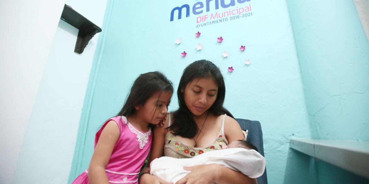 DIF Mérida tiene segundo lactario para trabajadoras