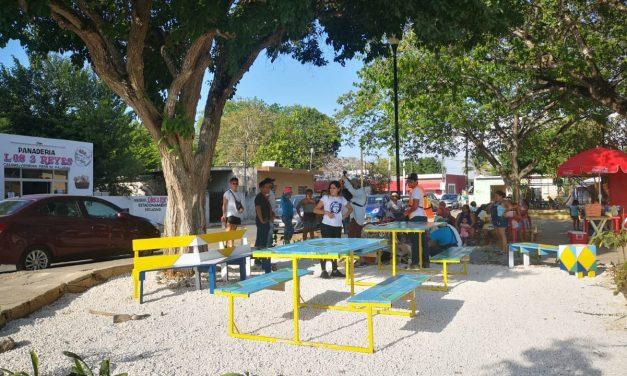 Festival de la Calle, transformación vecinal colaborativa, en Dzityá