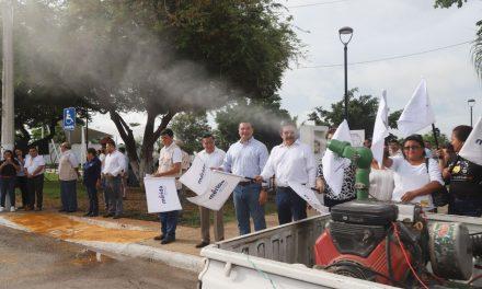 Fumigación y abatización en Mérida contra dengue, zika y chikungunya