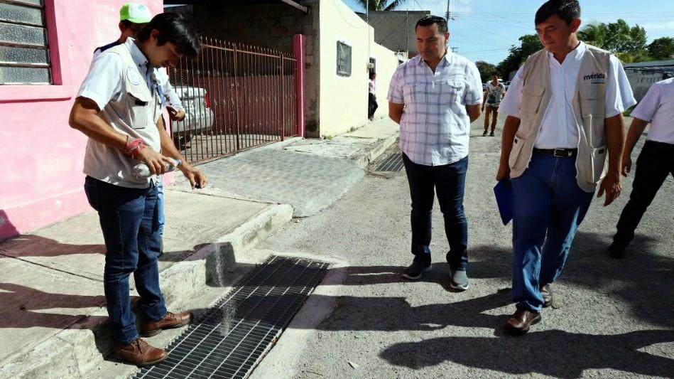 Campaña de fumigación y abatización en Mérida busca apoyo ciudadano