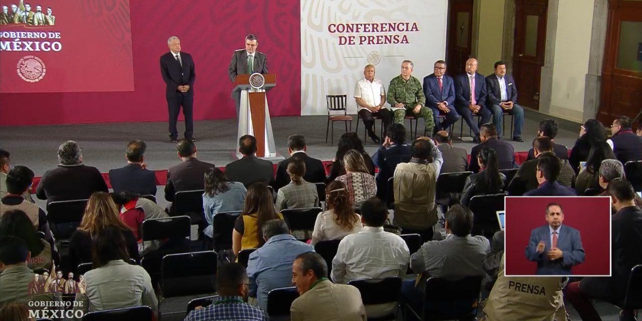 Presentan comisión especial por acuerdo migratorio con Estados Unidos