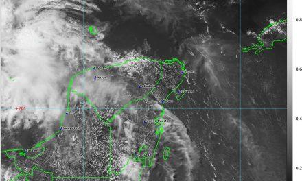 Paran lluvias y de vuelta calor extremo: hasta 39 grados en Yucatán, y 40 en Campeche
