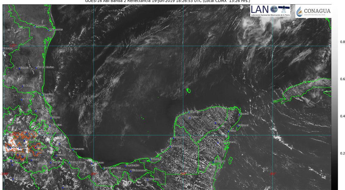 Jueves y sábado de 40 grados; viernes, hasta 41, en la Península de Yucatán