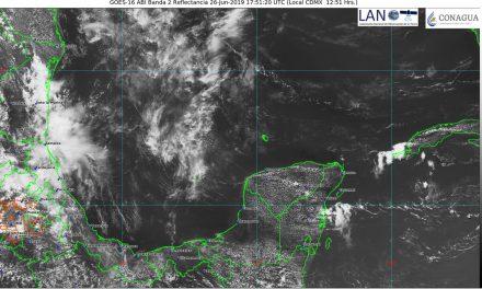 Así el pronóstico del clima para jueves, viernes y sábado en península de Yucatán