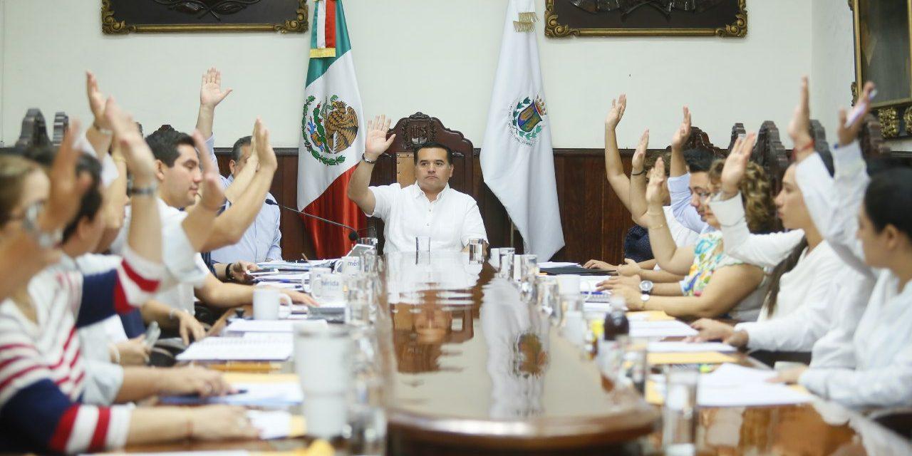 Avala Cabildo obras para colonias y comisarías, y subsidio extra a Servi-Limpia