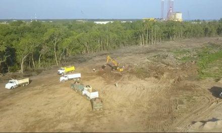Inician trabajos de la Nueva Refinería de Dos Bocas, Tabasco.