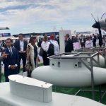 Vila asiste a Exposición Internacional de Aeronáutica y Espacio en París