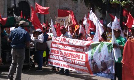 Antorchistas resisten nueva política de apoyos sin intermediarios (Video)